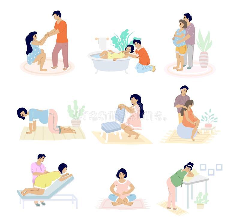možnosti porodní pozice u porodu